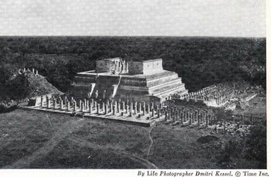 Chichen Itza - from the book Gods, Graves, and Scholars