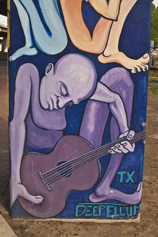 Deep Ellum Art Park, Dallas, Texas