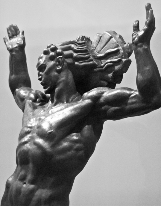 Sun God (Helios), Donald DeLue Dallas Museum of Art Dallas, Texas