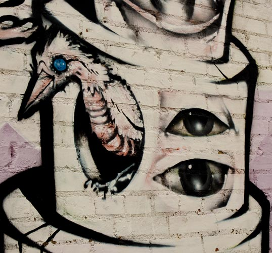 Detal, Mural, Deep Ellum, Dallas, Texas