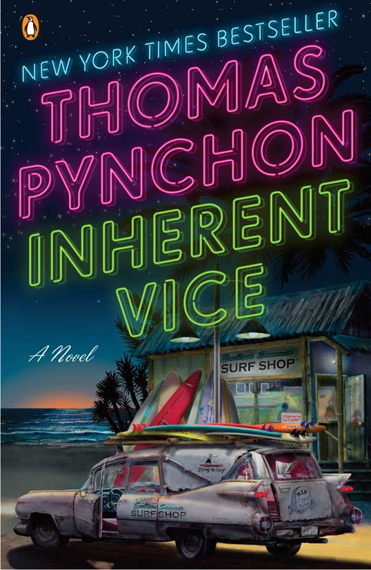 Cover of Inherent Vice, by Thomas Pynchon