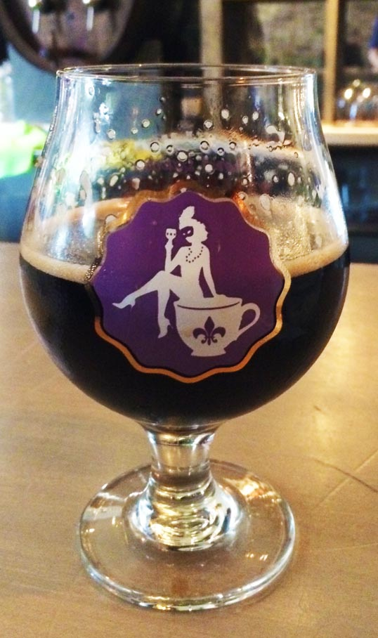 Lakewood Brewing Company, French Quarter Temptress, Special Glass, Brewed, Fort Worth, Texas