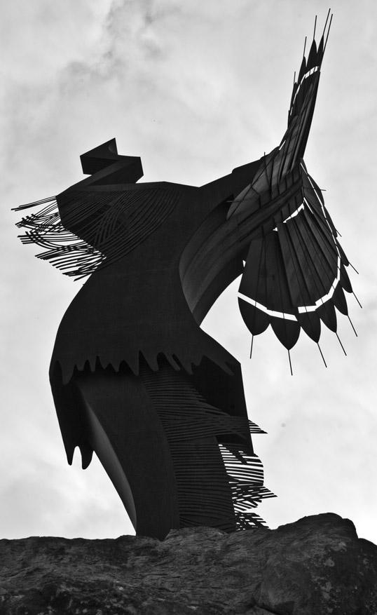 Keeper of the Plains sculpture, Wichita, Kansas
