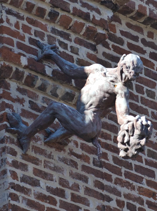 New Orleans Gargoyle, Thomas Randolph Morrison, New Orleans, Louisiana