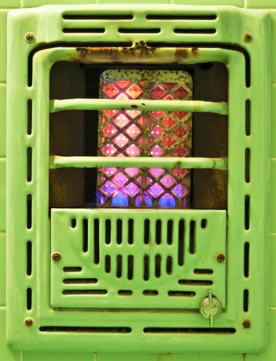 Gas Space Heater, St. Charles Guest House, New Orleans, Louisiana