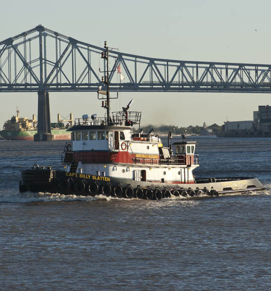 Capt. Billy Slatten Towboat Mississippi River New Orleans, Louisiana