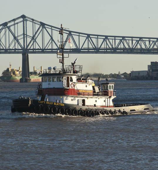 Capt. Billy Slatten Towboat Mississippi River New Orleans, Louisiana