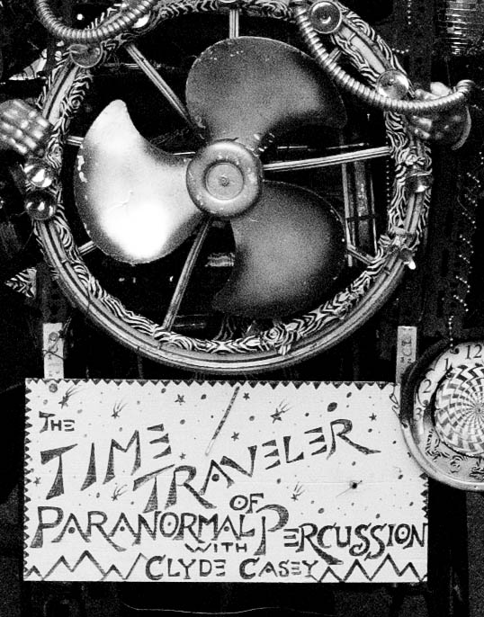 The Time Traveler of Paranormal Percussion, with Clyde Casey New Orleans, Louisiana