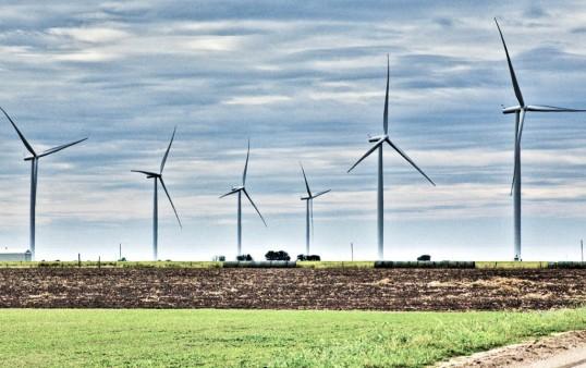 Wind Turbines Blackwell, Oklahoma (click to enlarge)