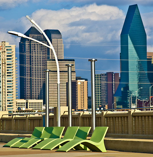 Continental Bridge Park,  Dallas, Texas (click for larger version on Flickr)