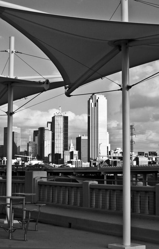 Shade Structures, Continental Bridge Park, Dallas, Texas