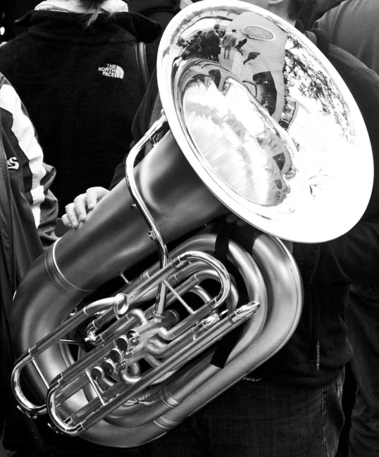 Tuba Christmas Thanksgiving Square Dallas, Texas