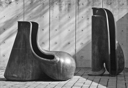 (click to enlarge) Tony Cragg English, born 1949 New Forms 1991-1992, Bronze
