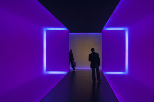 JAMES TURRELL  American, born 1943  The Light Inside  1999  Neon and ambient light