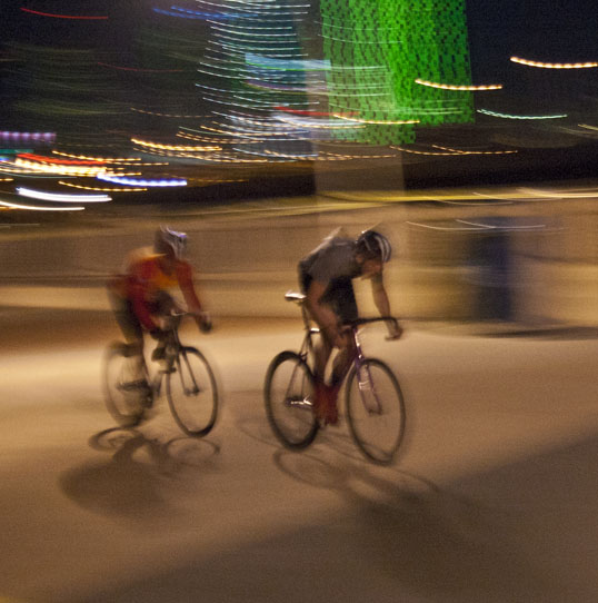 Bicycle Drag Races, Continental Bridge Park, Dallas, Texas