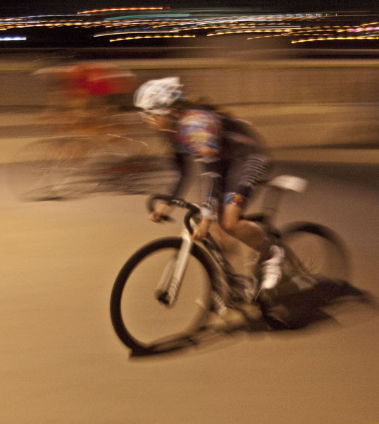 Bicycle Drag Race, Continental Bridge, Dallas, Texas