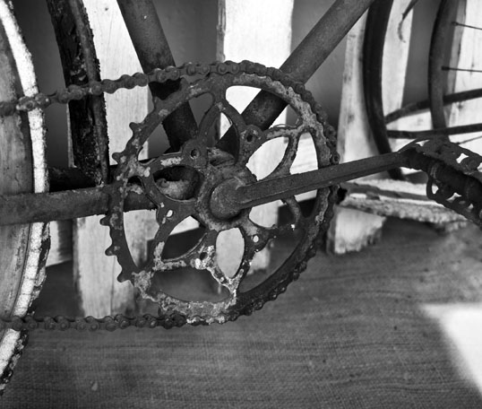 Skiptooth Front Cog Frisco Heritage Center Frisco, Texas