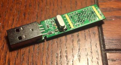 Innards of the USB drive.