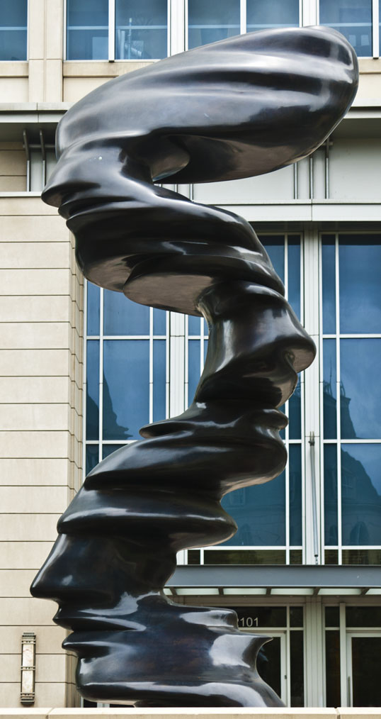 "Tony Cragg's ""Line of Thought"" Dallas, Texas"