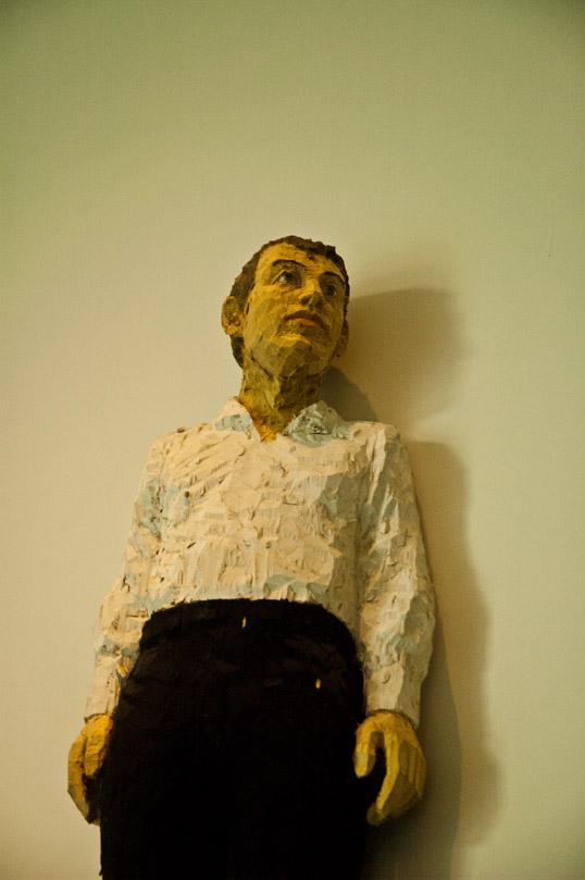 Four Figures (detail) Stephan Balkenhol Modern Art Museum of Fort Worth