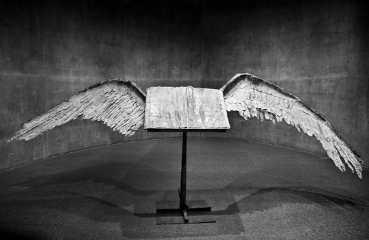 (click to enlarge) Book With Wings Anselm Kiefer Modern Art Museum of Fort Worth