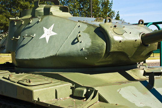 M41 Walker Bulldog Liberty Park Plano, Texas