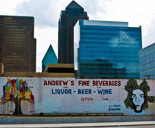 Eric Mancini Mural Dallas, Texas