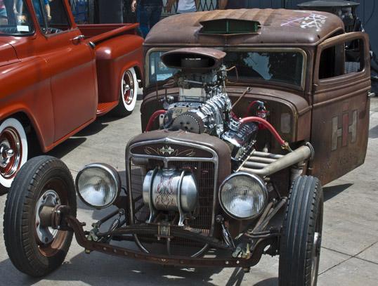 Invasion Car Show Deep Ellum Dallas, Texas