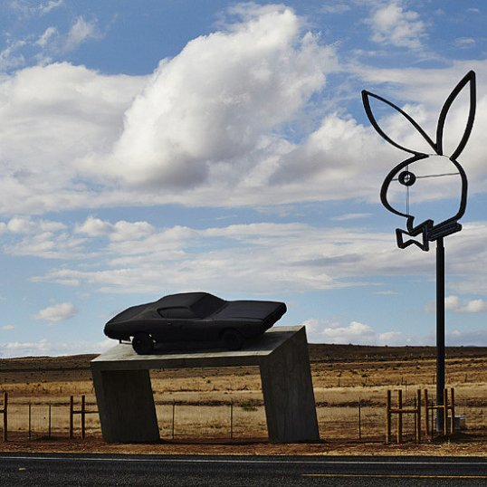 Playboy Marfa now moved to Big D Marfa, Texas