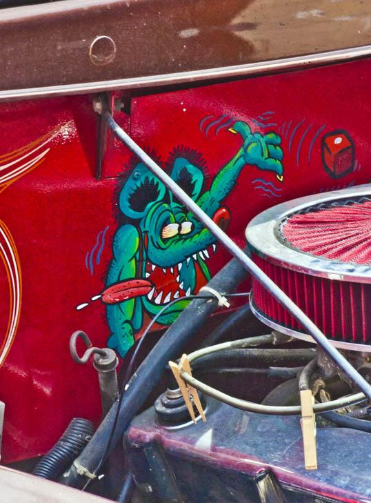 Rat Fink Invasion Car Show Deep Ellum Dallas, Texas