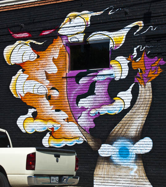 Mural, Deep Ellum Dallas, Texas