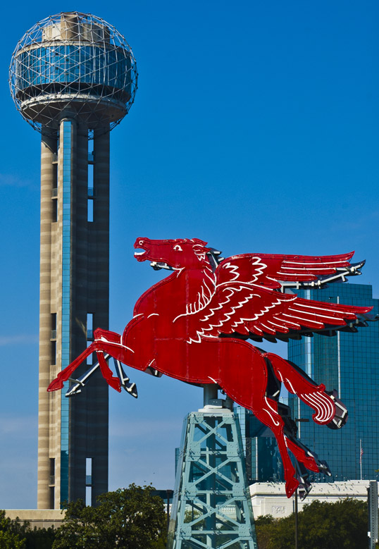 Pegasus, Omni Hotel, Reunion Tower Dallas, Texas