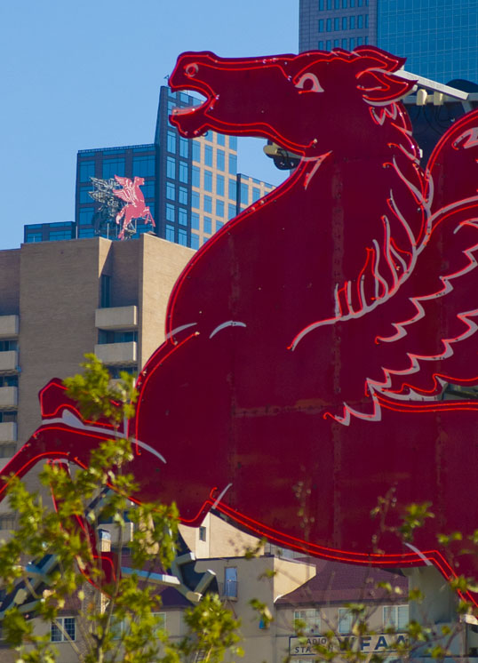 Pegasi Downtown Dallas Texas