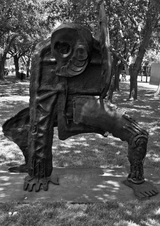 Untitled (Sprawling Octopus Man), by Thomas Houseago Nasher Sculpture Center Dallas, Texas