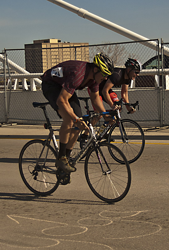 Bicycle Drag Races Margaret Hunt Hill Bridge Dallas, Texas
